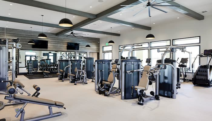 well house gym at Sommers Place