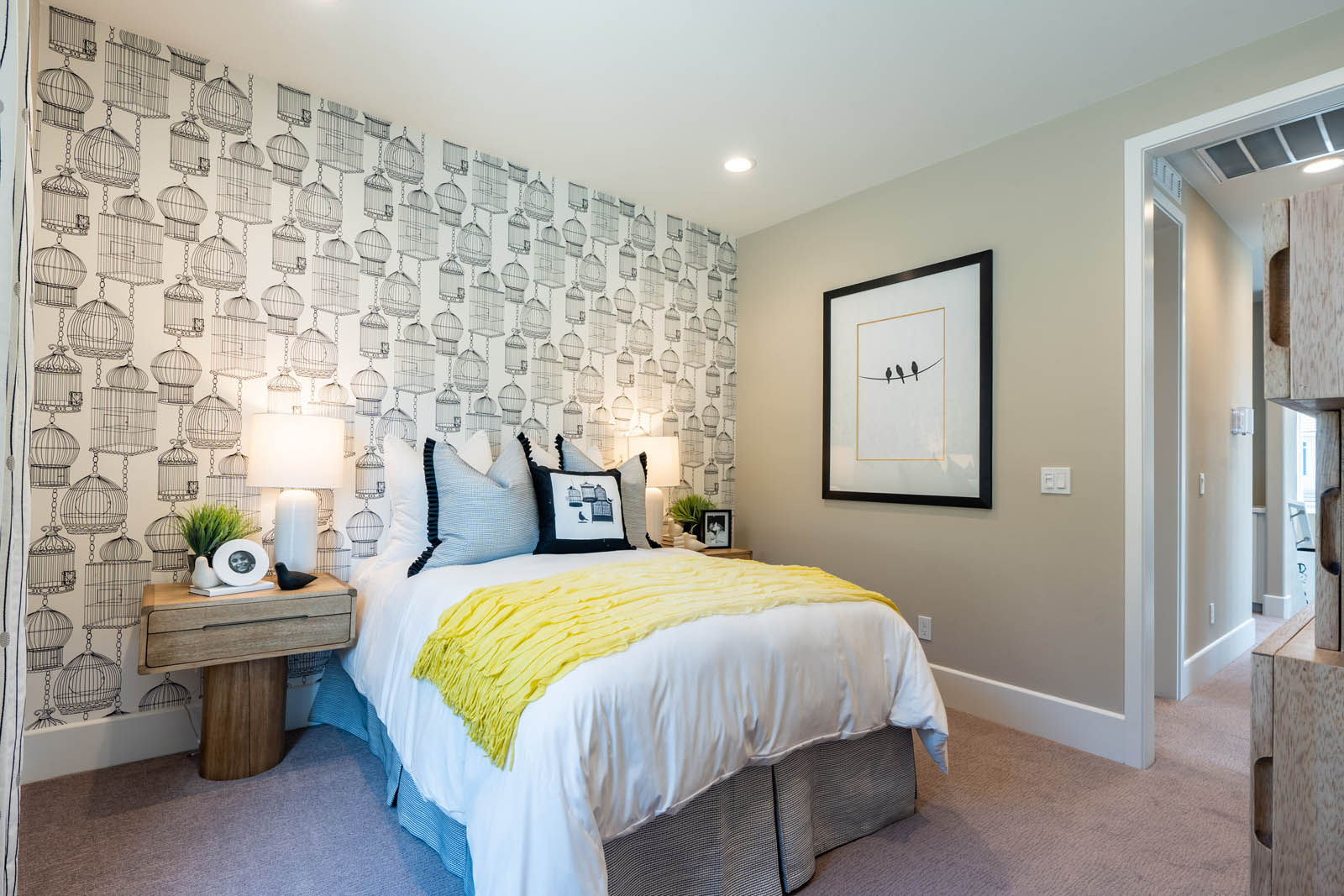 Bedroom in Finch at Canvas at Sommers Bend