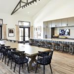 Woodside Dining Room to Kitchen